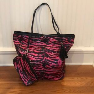 Betsey Johnson Sparkling Tote